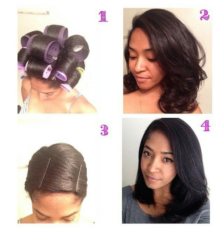 How To Straighten Your Natural Hair Without Heat Tools