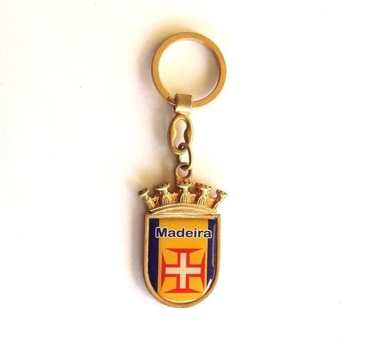 MADEIRA ISLAND PORTUGAL Flag Double Face Metal Key chain Key ring Keyring CR7   eBay