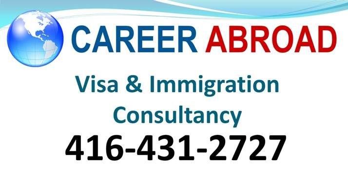 Career Abroad - Visa and Immigration Consultancy - Scarborough, Ontario
