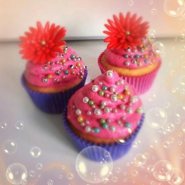 Parel cupcakes