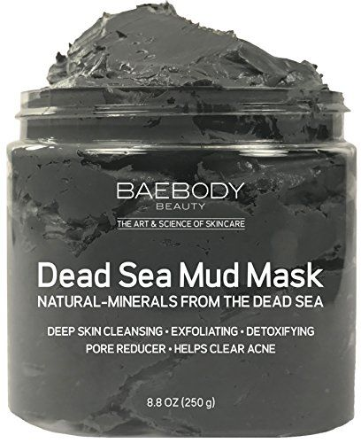 Dead Sea Mud Mask Best for Facial Treatment, Acne, Oily Skin & Blackheads - Minimizes Pores, Reduces Look of Wrinkles, and Improves Overall Complexion. Natural-Minerals From The Dead Sea 8.8 oz. For product & price info go to:  https://beautyworld.today/products/dead-sea-mud-mask-best-for-facial-treatment-acne-oily-skin-blackheads-minimizes-pores-reduces-look-of-wrinkles-and-improves-overall-complexion-natural-minerals-from-the-dead-sea-8-8-oz/
