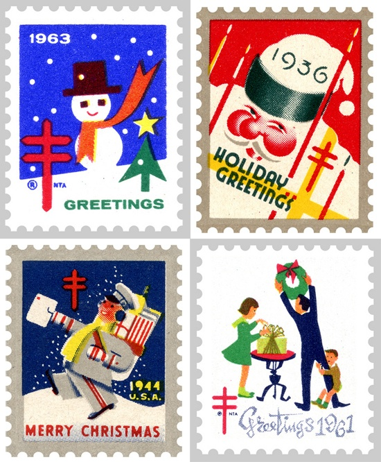 us post office stamps for christmas