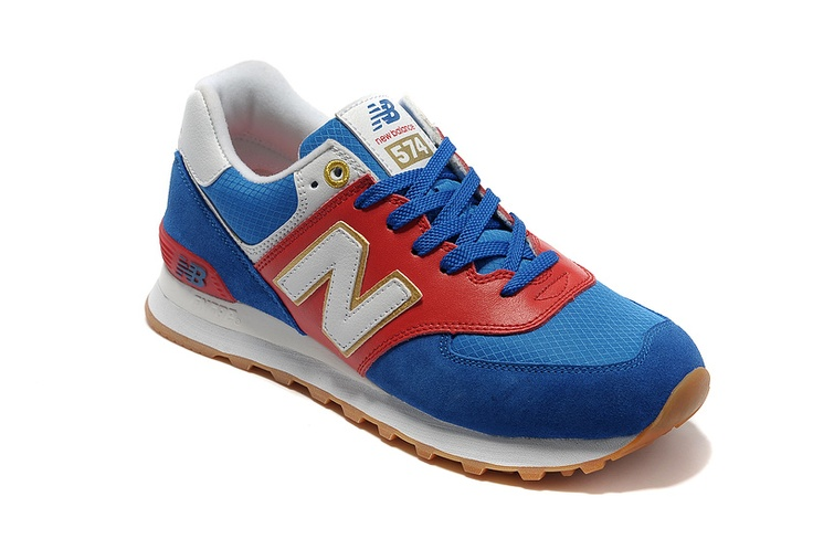 New Balance 574 Olympic Pack Blue Red White