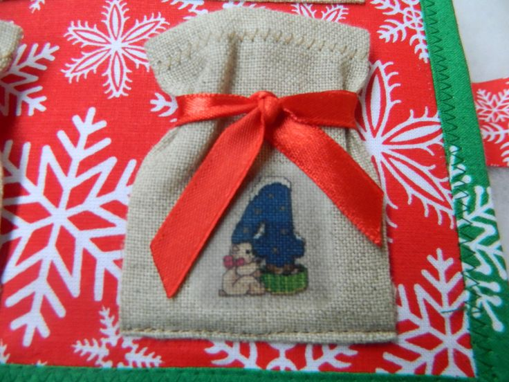 Cristmas gift / Bag for candy / Quiet book