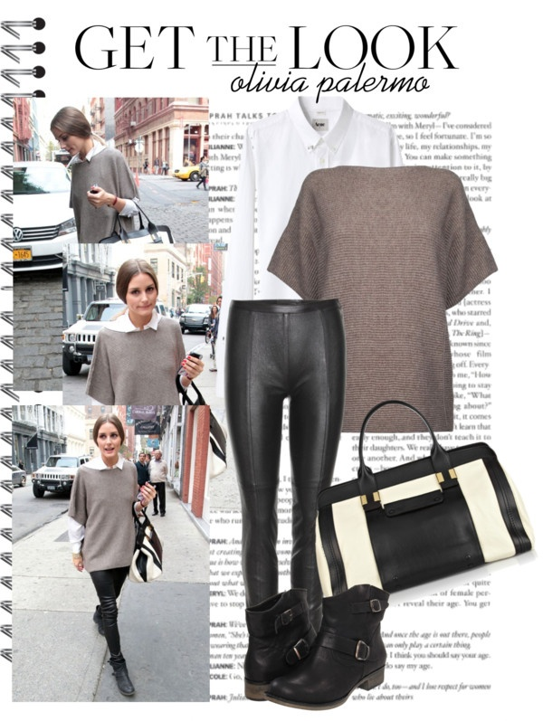 """""""Get the Look - Olivia Palermo"""" by siby ❤ liked on Polyvore"""