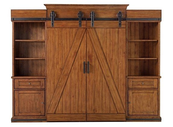 McGraw 5-pc. Entertainment Center   Entertainment Centers   Raymour and Flanigan Furniture