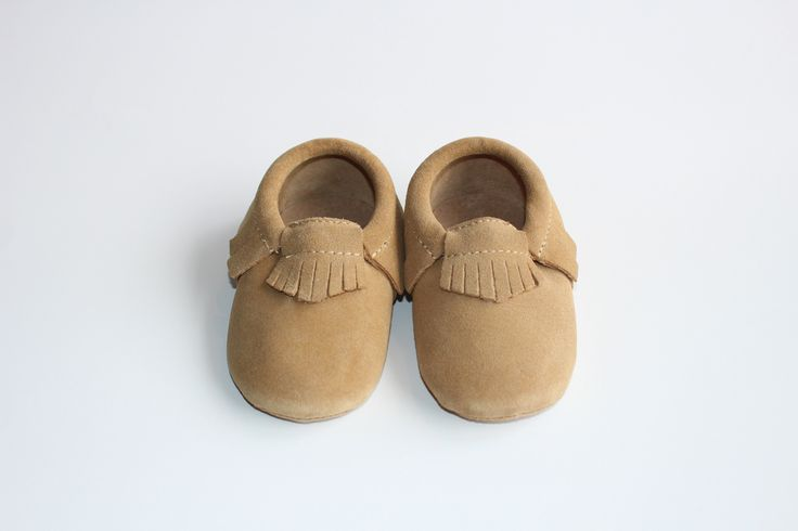 Dersert Suede Moccasin's - brookzbabycompany  100% Genuine Leather  The Brookz mocc's have the classic and timeless design with elastic opening. As 100% Genuine Leather they are soft but built to last! Inside is a soft but lasting sole to make every step the most comfortable for your little. More information on sizes and colors will be released nearer to pre-sale opening  www.brookz.co