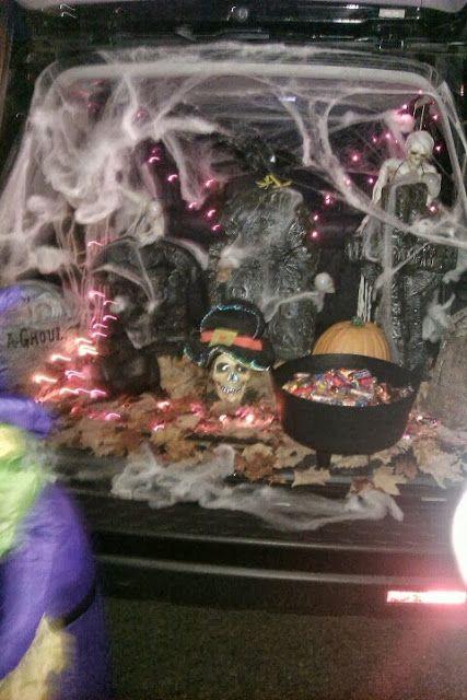 71 best trunk or treat ideas images on Pinterest | Halloween ideas ...
