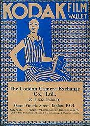 Film wallet, no date. The London Camera Exchange Co., Ltd., 20 Bucklersbury, Queen Victgoria Street, London.