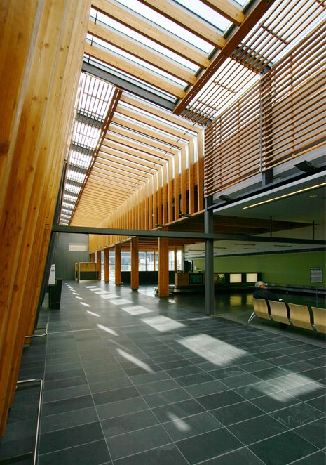 PRINCE GEORGE AIRPORT | WORK | MICHAEL GREEN ARCHITECTURE