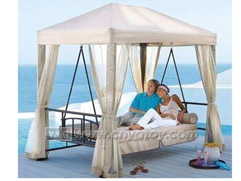 canopy swing bed i would be napping outside every day during the summer beds i want. Black Bedroom Furniture Sets. Home Design Ideas