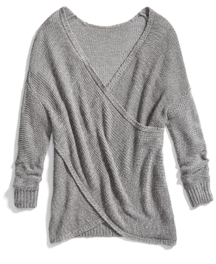 Stitch Fix Winter Essentials: Try a cross-front sweater to switch up your sweater game.