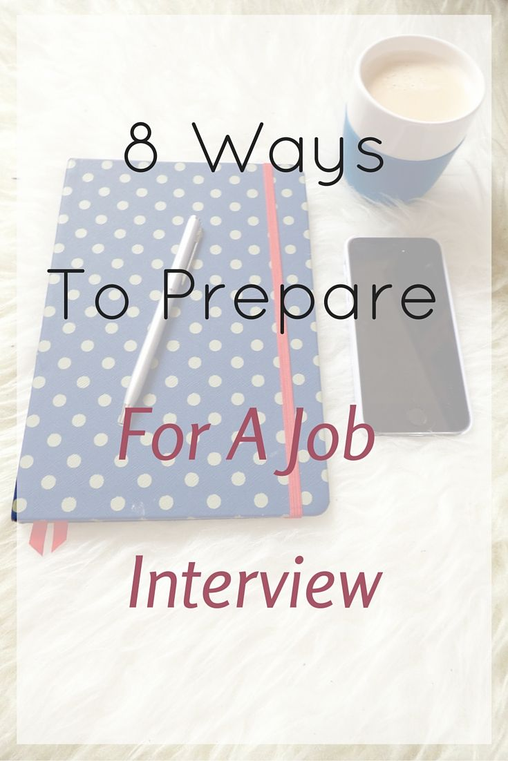 8 ways to prepare for a job interview - Job Interview Techniques Tips