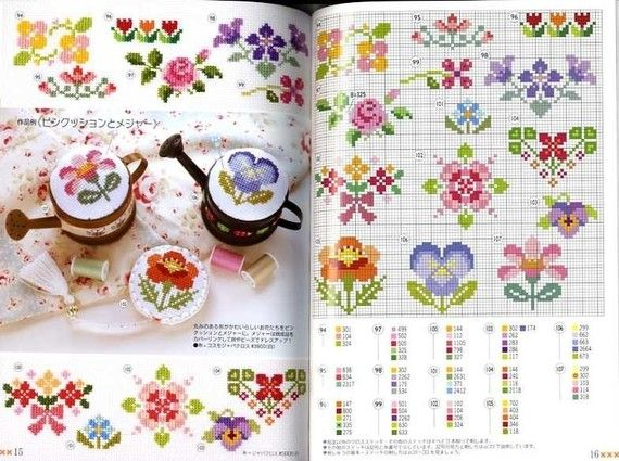 Paperback: 33 pages  Publisher: Bunka (August 2009)  Language: Japanese  Book Weight: 100 Grams    Contents:  152 Designs of Cross Stitch Patterns.  Flowers, Animals, Houses, Symbols, Girls, Boys, Trees, Etc... Very Cute Designs!    SHIPPING INFORMATION  The book will be shipped out from JAPAN by Regular AIRMAIL to all over the world. Please allow 1 week for delivery. From my experience, this method is always very fast and reliable.