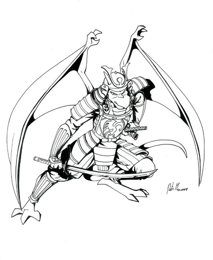 gargoyles characters coloring pages - photo#21