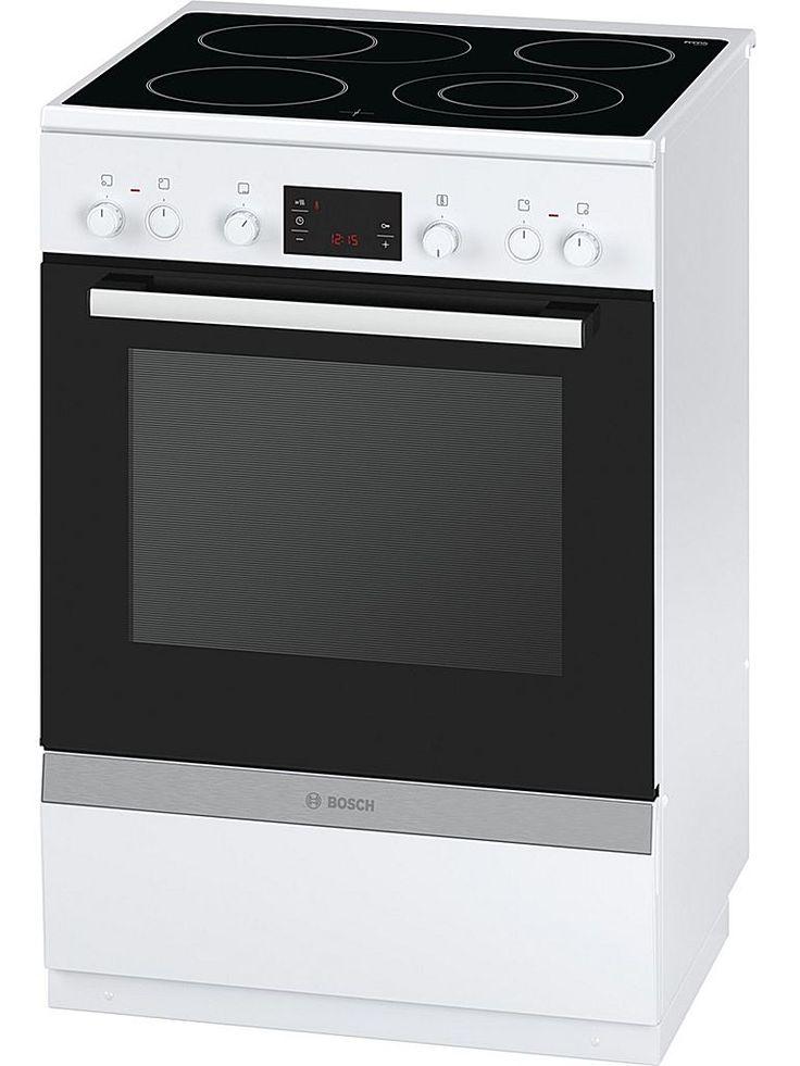 Bosch HCA744220V är en spis med upp till 8 uppvärmningsalternativ samt energisnål glaskeramikhäll. Lätt att laga mat och lätt att rengöra med självrengörande katalysemalj.