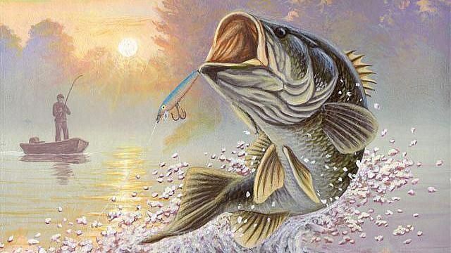 bass images of fish | Memory of former State-Fish Art winner honored - FLW Fishing News