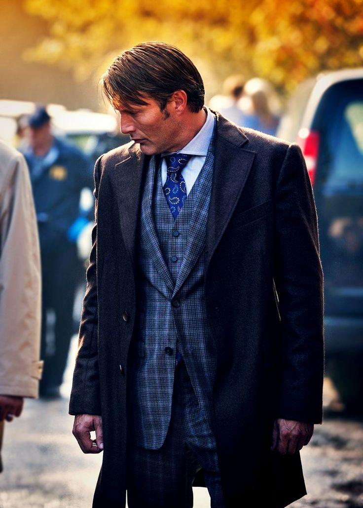Hannibal . . . ahhhhh … the plaid …