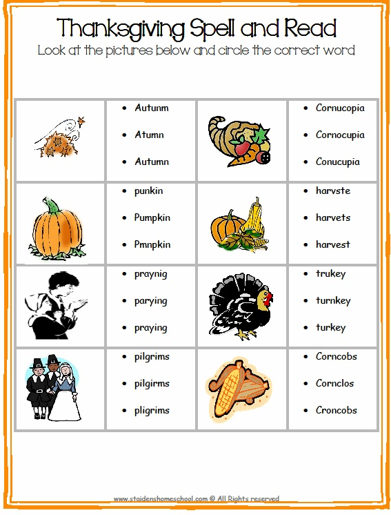 103 best Thanksgiving Worksheets & Books images on ...