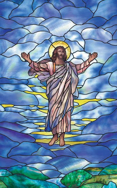 "Feast of Ascension ""God mounts his throne amid shouts of joy; the LORD, amid trumpet blasts. Sing praise to God, sing praise; sing praise to our king, sing praise."" (Psalm 47) 