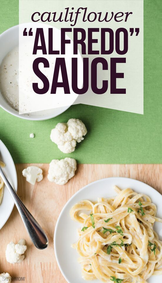 It's pasta night at your house with this tasty Cauliflower Alfredo Sauce.