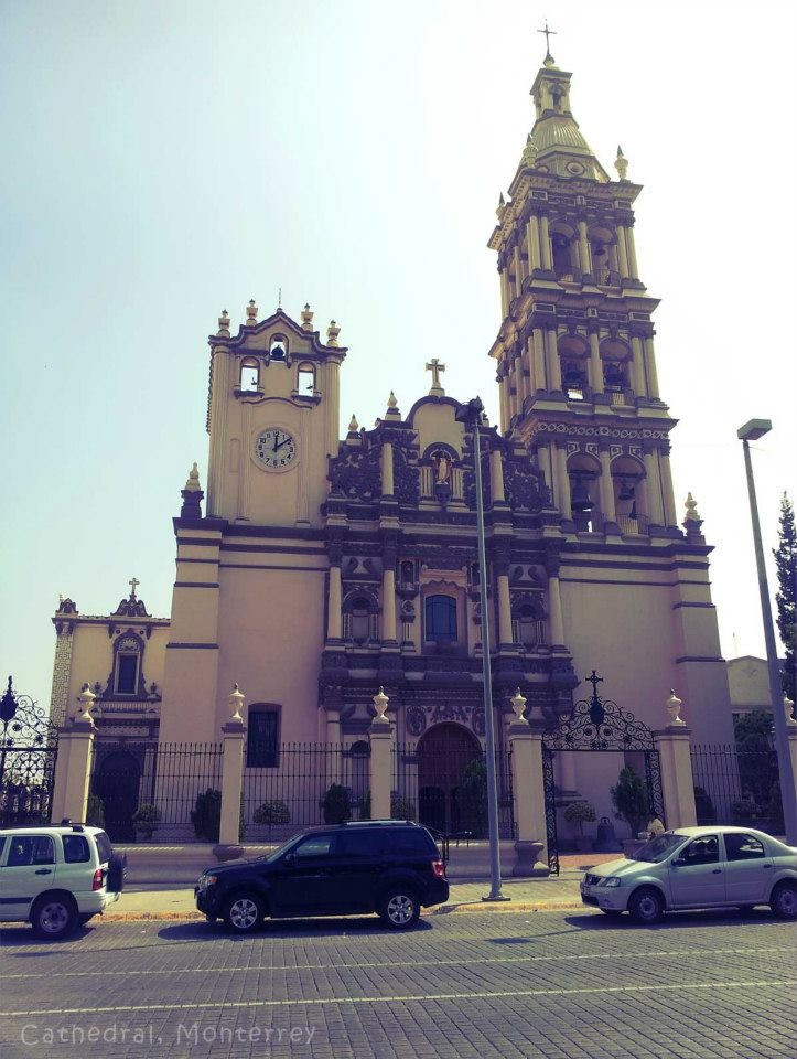 Cathedral in Monterrey, mexico