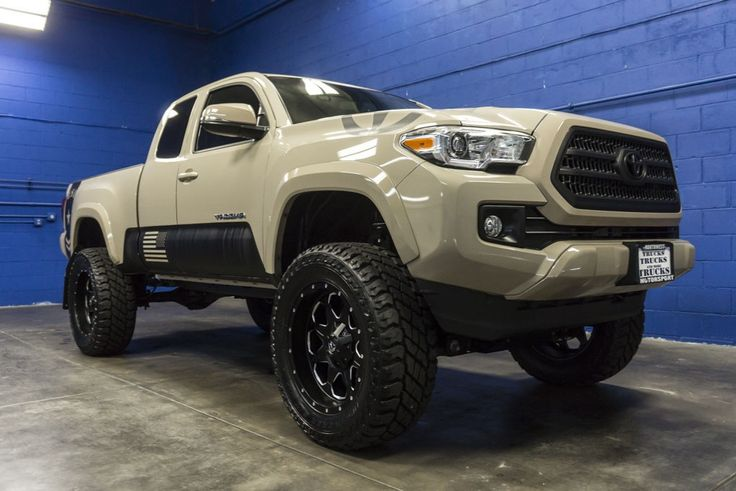 Lifted 2016 Toyota Tacoma 4x4   Tacoma Decals   Toyota ...