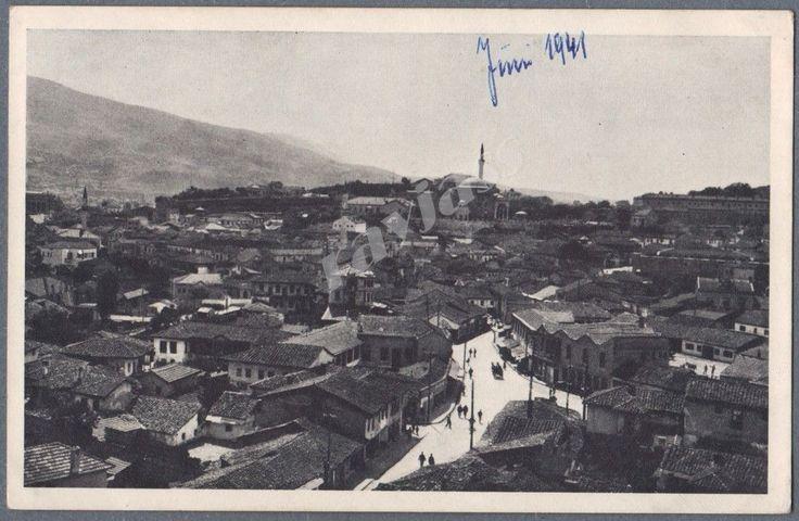 1939 Postcard Skopje Macedonia City View Turkish Quarter | eBay