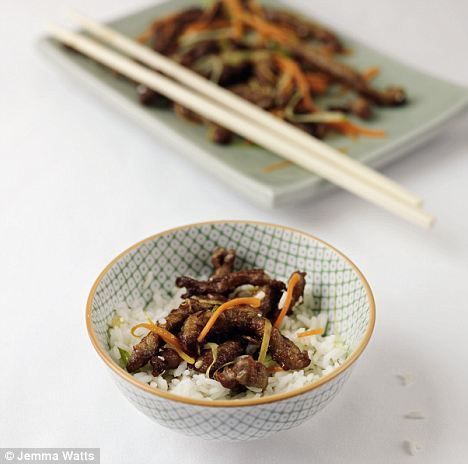Healthy Crispy Beef - hurrah!
