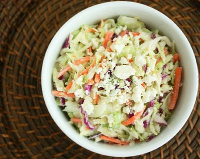 Blue Cheese Coleslaw - Cooking Classy