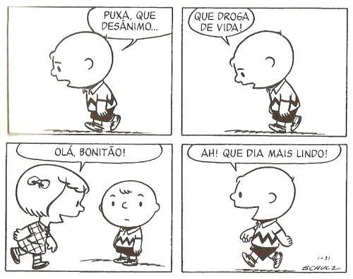 deposito-de-tirinhas:  por Charles Schulz www.peanuts.com/