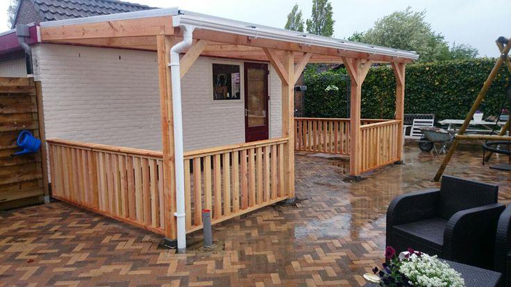 17 best images about veranda van hout op maat gemaakt on pinterest ramen wands and tes - Pergola dakbedekking ...