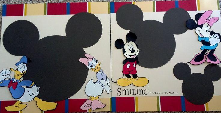 My Cricut Craft Room - Mickey and Minnie