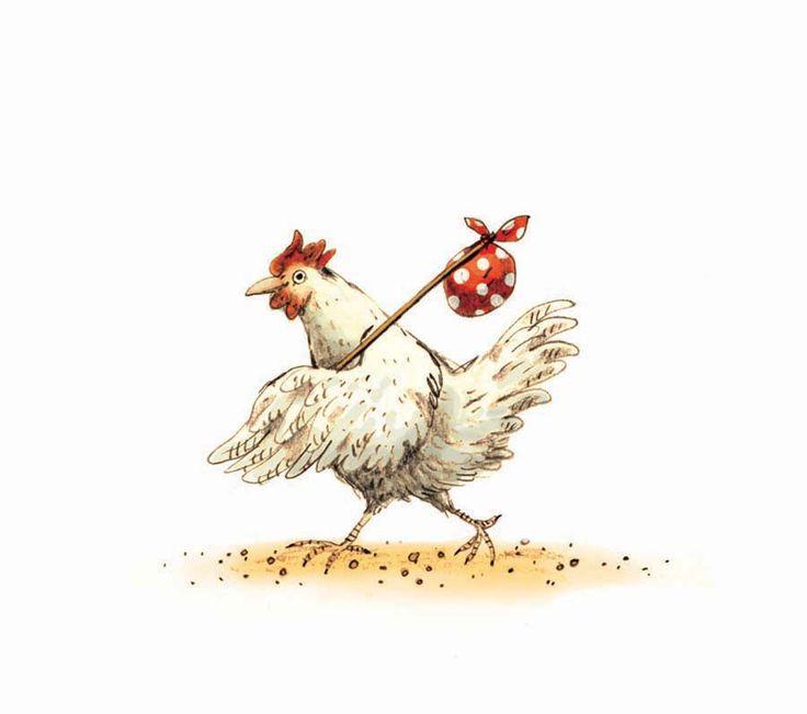 Connu Les 25 meilleures idées de la catégorie Poule dessin sur Pinterest  WS53