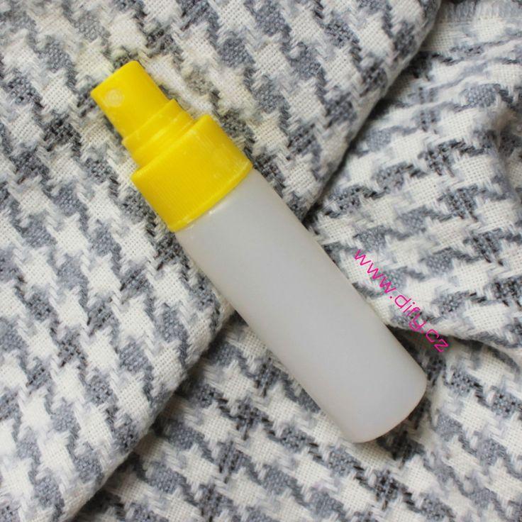 Recept na jednoduchý domácí deodorant ve spreji (přírodní DIY kosmetika)