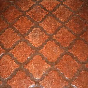 Spanish patio tiles - idea for backyard patio project