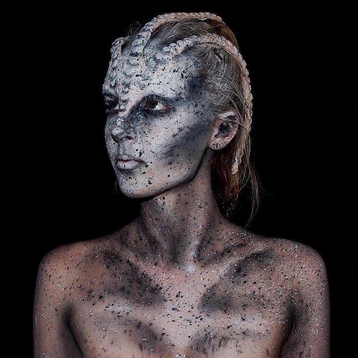 Les body painting fantastiques de Lara Wirth 2Tout2Rien