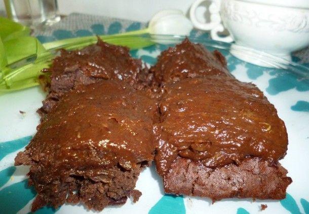 Zdravé brownies z červených fazolí