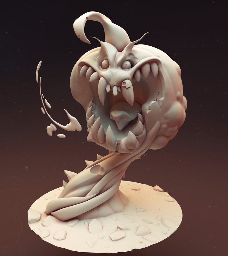 ArtStation - Creepy Pumpkin, Ben Franklin