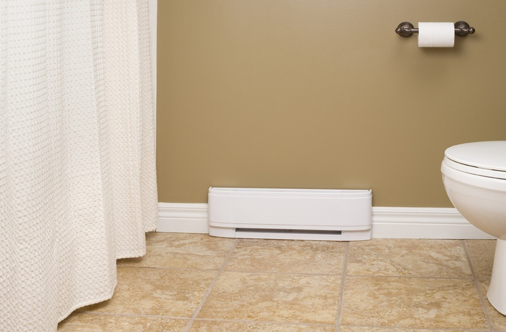51 best home heating images on pinterest electric for How to heat a small bathroom