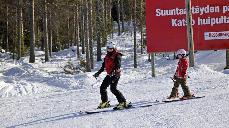 Ounasvaara Ski Resort -Rovaniemi, Lapland, FInland