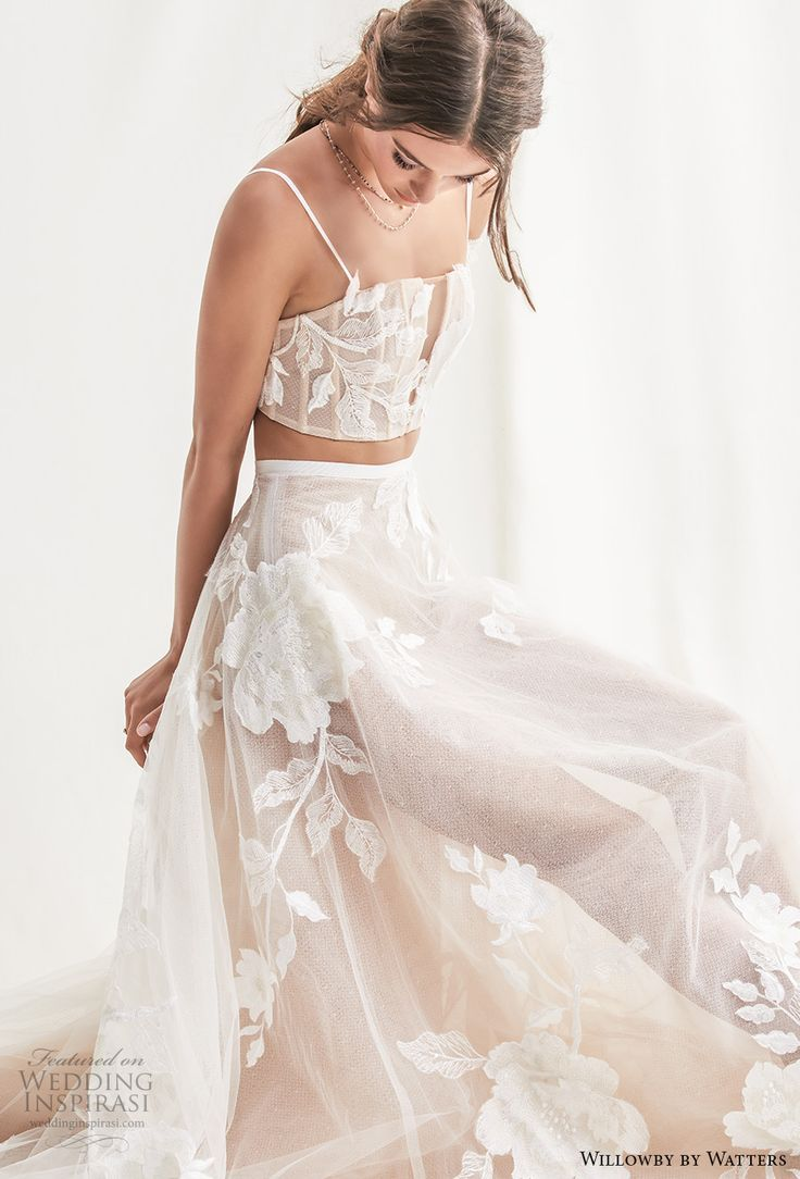 Willowby by Watters Spring 2019 Wedding Dresses - #Dresses #Spring #Watters #Wed ...