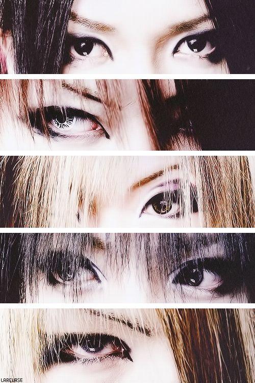eyes of The GazettE member >///