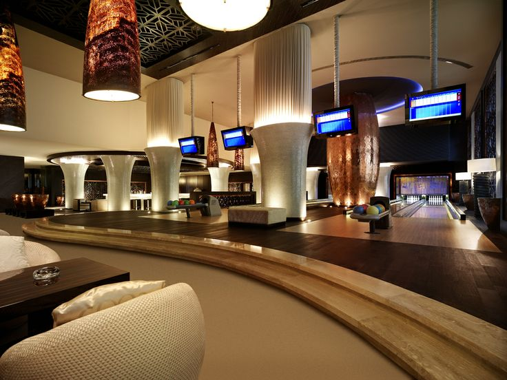 Here you can enjoy bowling with friends or family members at our sleek set of modern ten-pin #bowling alleys.