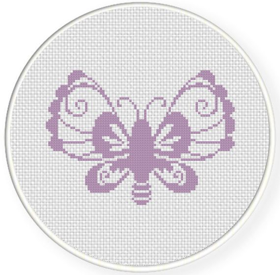 FREE Deco Butterflies Cross Stitch Pattern