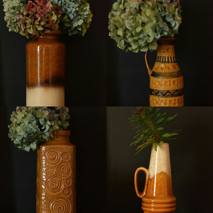 Lovely selection of West German pottery .All new on the website