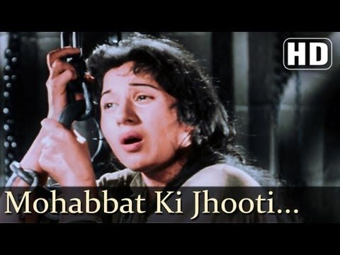 ▶ Mohabbat Ki Jhooti Kahani - Madhubala - Mughal-E-Azam - Bollywood Classic Songs - Naushad - YouTube