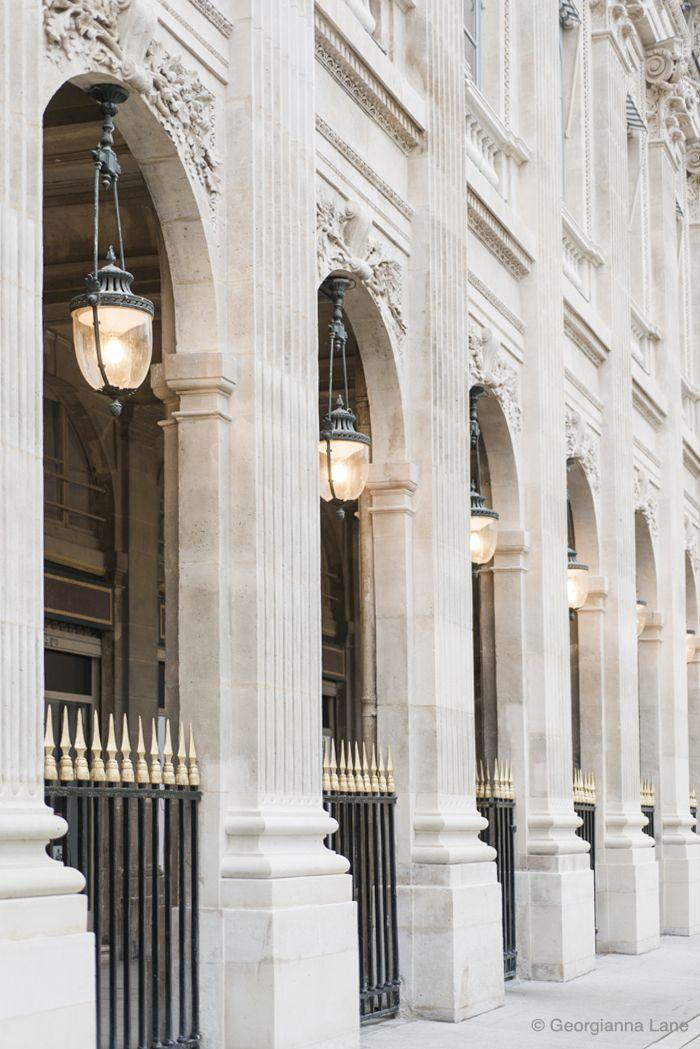 Travel Inspiration for France - Palais Royal, Paris, by Georgianna Lane