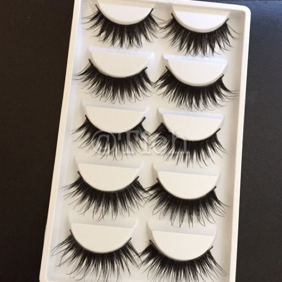 7e9ed9605dc 1 Pack Wispy Noir Fairy Lashes New in box. 5 pairs per pack. Similar ...