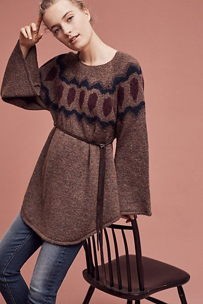 Royanna Poncho Pullover #anthropologie